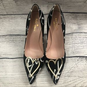 ed55b1b25b15 kate spade Shoes - 7.5 Kate Spade Lava Heart Pointed Toe Stilettos